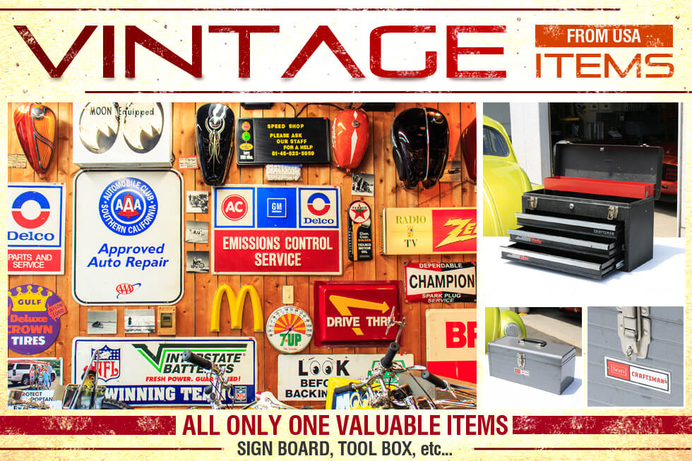 Vintage Items From USA