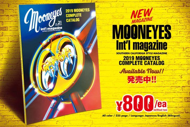 MOONEYES Int'l Magazine Summer 2019