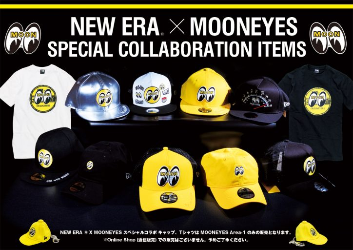 NEW ERA ® × MOONEYES SPECIAL COLLABORATION ITEMS