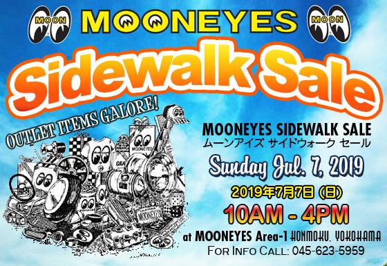 7月7日(日)は Sidewalk Sale!