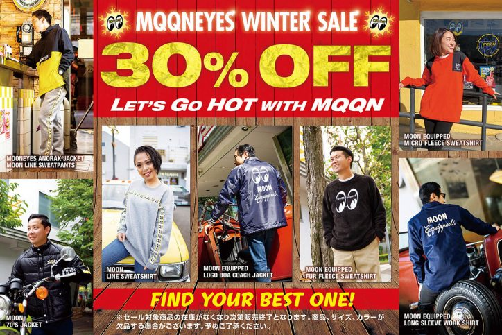 MOONEYES WINTER SALE